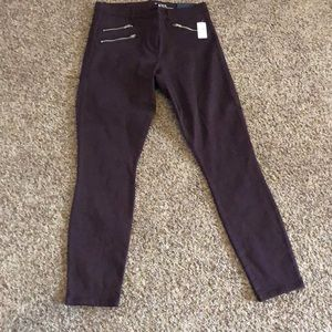 Women's gap skinny jeans (burgundy) 14
